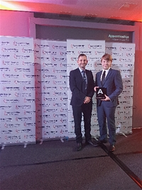 National recognition for South West Water apprentice