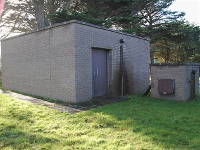 Water company's hidden underground Cold War bunker for sale