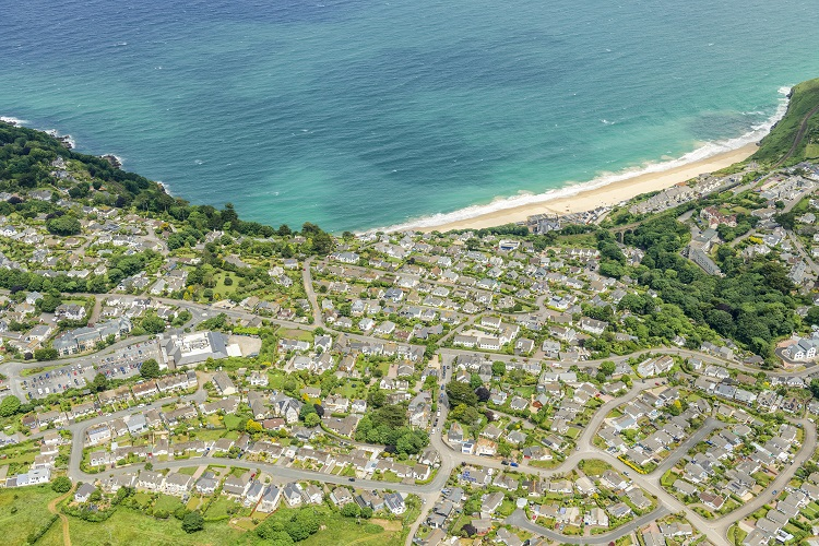 Work starts on major sewer upgrade in Carbis Bay