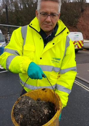 Work to clear Devon's largest fatberg finishes