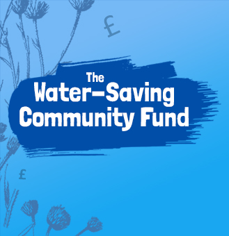 We've launched The Water-Saving Community Fund